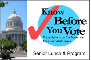 Know Before You Vote Seniors Lunch & Program