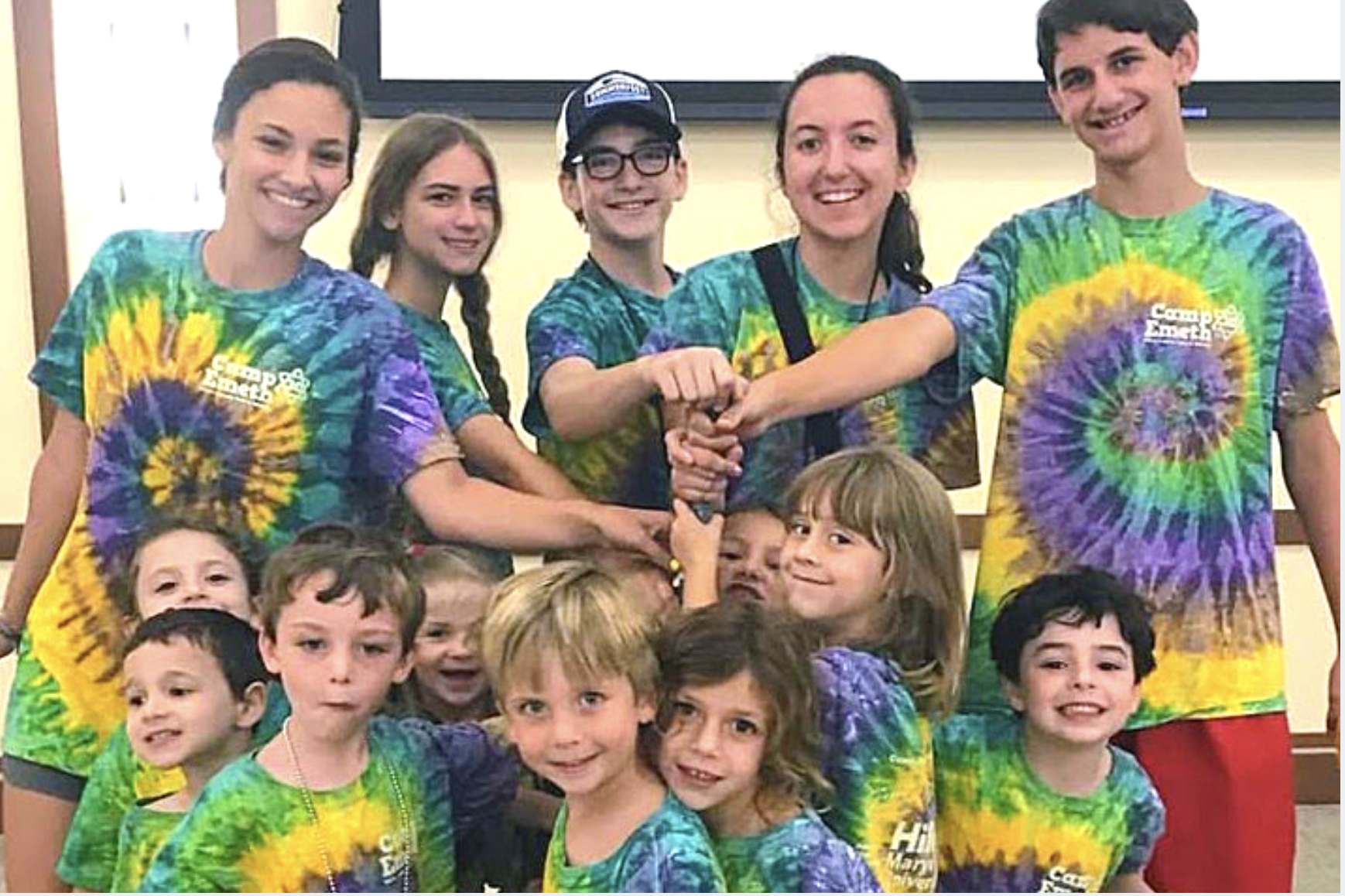 Be a Camp Emeth T-Shirt Sponsor!
